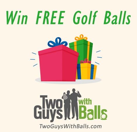 Balls Win A FREE Dozen Golf Balls Sweepstakes