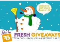 $25 Weekly Gift Card Giveaway