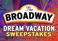 Broadway Records Broadway Dream Vacation Sweepstakes