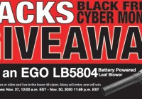 Jacks Black Friday Cyber Monday Giveaway