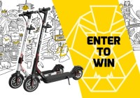 Swagtron Swagger 5 Boost Folding Electric Scooter Giveaway