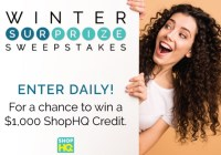IMEDIA BRAND ShopHQ Winter Surprize Sweepstakes