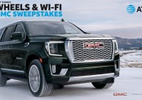 AT And T THANKS The Wheels And Wi-Fi GMC Sweepstakes