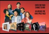 Exclaim Media Arcade Fire Massive Vinyl Prize Pack Giveaway