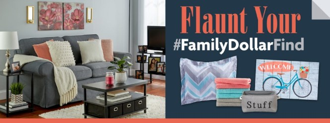 Family Dollar Flaunt Your Find Contest