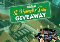 ICON Meals St. Patrick Day Giveaway