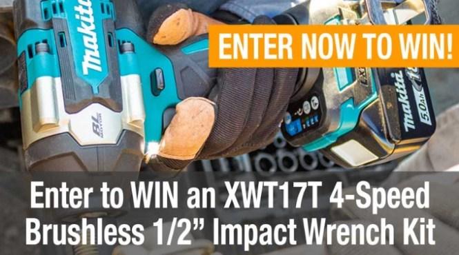 Makita 18V XDT14T Impact Driver Kit Giveaway