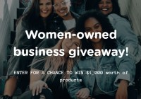The Cure-ist Women-Owned Business Giveaway