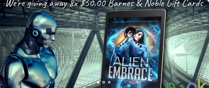 D. F. Jones Alien Embrace Barnes And Noble Giveaway