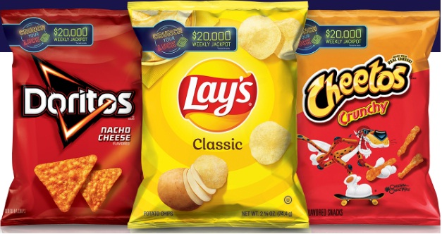Frito-Lay Crunch Your Luck Sweepstakes
