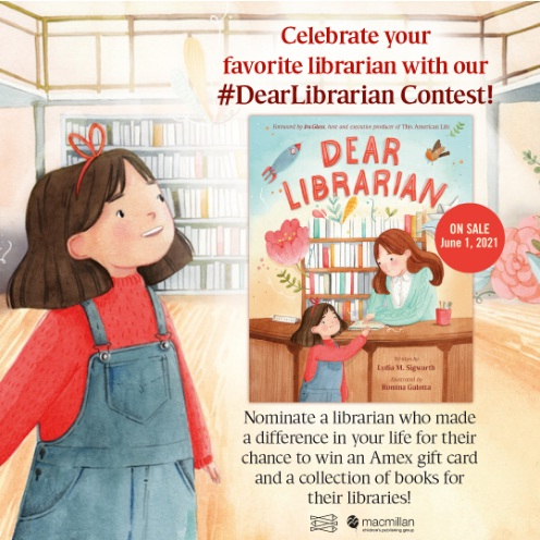 Macmillan Celebrate Your Favorite Librarian Contest