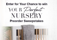 Simon And Schuster YOUR PERFECT NURSERY Preorder Sweepstakes