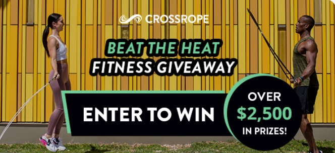 Crossrope Beat The Heat Fitness Giveaway