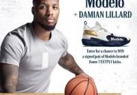 Modelo Damian Lillard Custom Shoe Sweepstakes