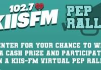 KIIS-FM Pep Rally Sweepstakes