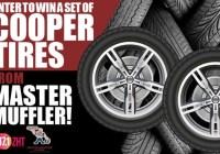 Master Muffler Tire Giveaway