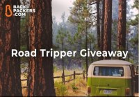 Backpackers.com Road Tripper Giveaway