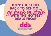 Dds DISCOUNTS Back To School Sweepstakes