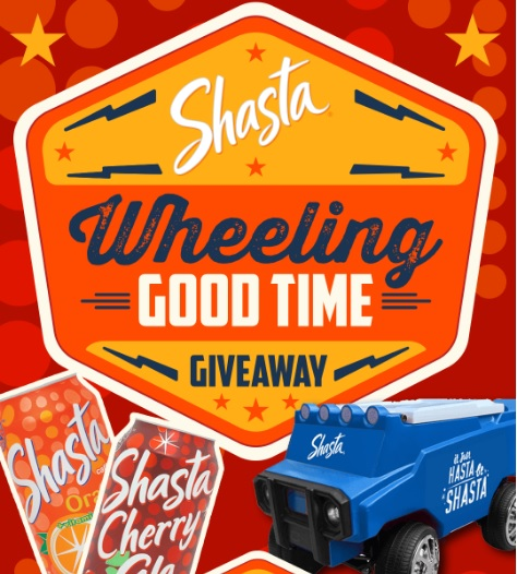 Shasta Wheeling Good Time Sweepstakes