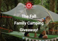 LuminAID Lab Fall Family Camping Giveaway