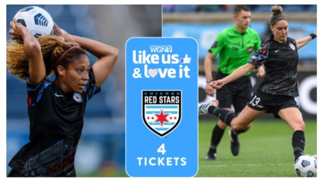 WGN-TV Like Us And Love It Chicago Red Stars Giveaway