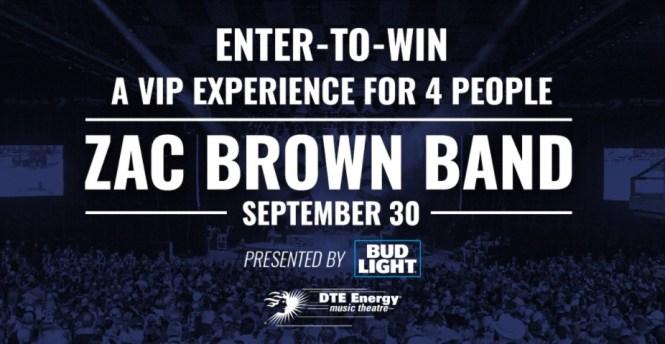 313 PRESENTS Zac Brown Band Contest