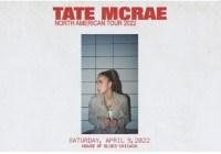 iHeartMedia Tate McRae North American Tour 2022 Sweepstakes