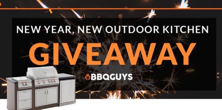 Bbqguys New Year New Outdoor Kitchen Giveaway Win Blaze Bbq Island Giveaway Sweepstakes Us Uk Canada Giveaway Plan