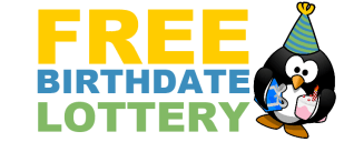 Free Birthdate Lottery – Win £10 Cash – Sort the Social Icons #Competition