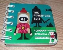 Win Zappar – The Adventure Suit Book – Family Clan Blog E:18/02