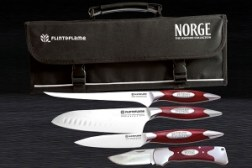Win a personalised, professional Seafood Collection Flint & Flame knife set, worth £400 E:28/04