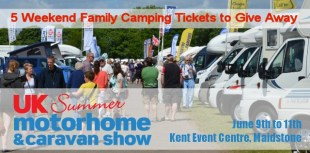 #GIVEAWAY COMPETITION – UK Summer #Motorhome & #Caravan Show Tickets #Competition E:28/05