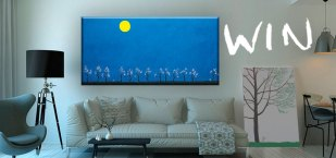 Win a painting by artist Young-Cheol Lee #YoungLee E:09/04