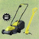 Win a Lawnmower and Trimmer Set E:27/06