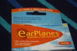 #Giveaway: EarPlanes Ear Plugs for Kids & Small Ears E:27/08