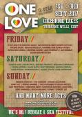 Win Weekend Camping Tickets To The One Love Festival 2017 E:24/08