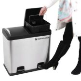 #Giveaway!  #Win a #Songmics 48L Dual Use Recycling Pedal Bin E:12/11 Family Clan Blog