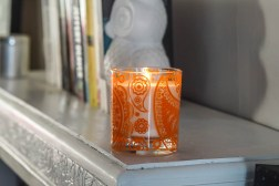 Mini Modern Paisley Crescent Candle & Diffuser Review & #Giveaway E:26/11