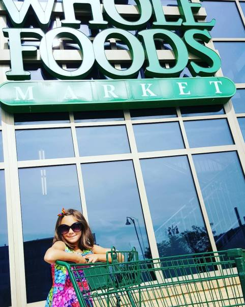 The Pearl Girl loves shopping at Whole Foods