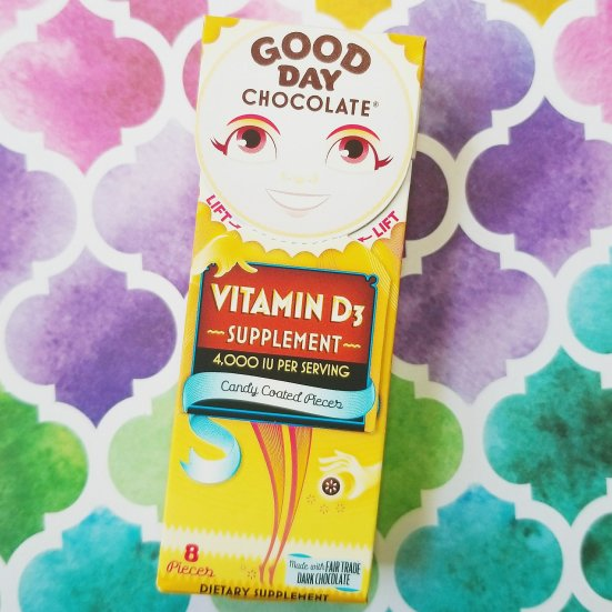 Good Day Chocolate Vitamin D supplement