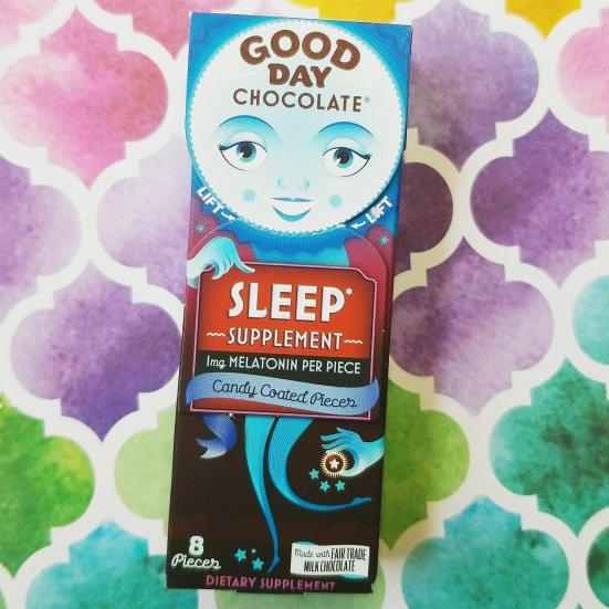 Sleep supplement from Good Day Chocolate is very effective!