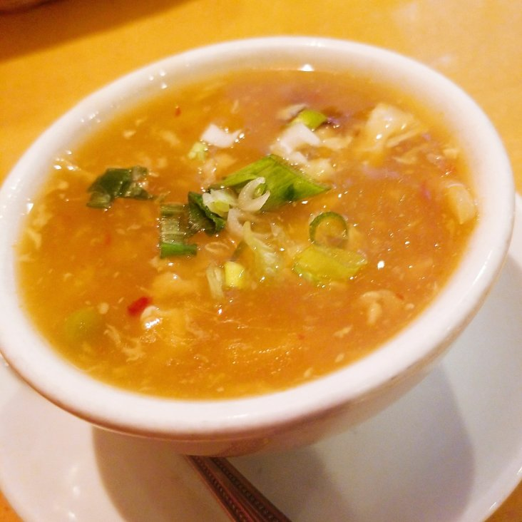 Sy Thai hot & sour soup