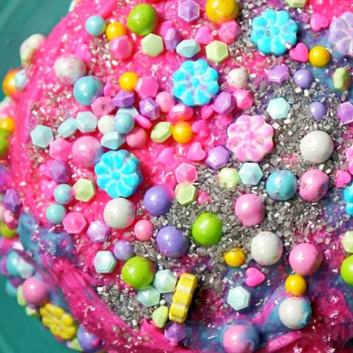 COTTON CANDY CAKE by GIVE IT A WHIRL GIRL - Gluten-Free - How I Created It