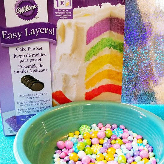 Wilton Easy Layers cake pan set
