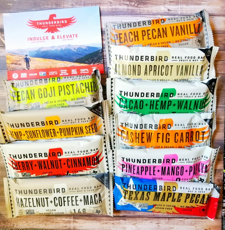 Thunderbird Bars Variety Pack