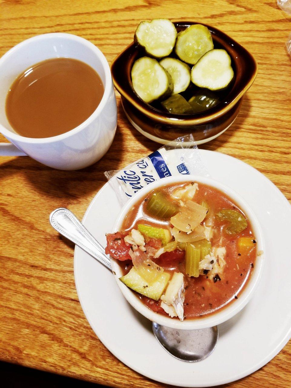 New York Deli in St Clair Shores, MI - Seafood Chowder