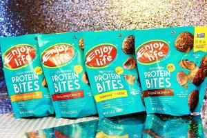 Enjoy Life Protein Bites REVIEW - Vegan & Gluten-Free - Healthy Snack