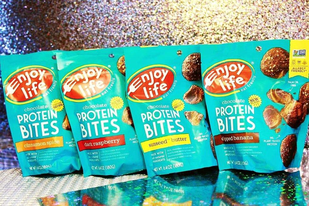 Enjoy Life Protein Bites REVIEW | Vegan & Gluten-Free