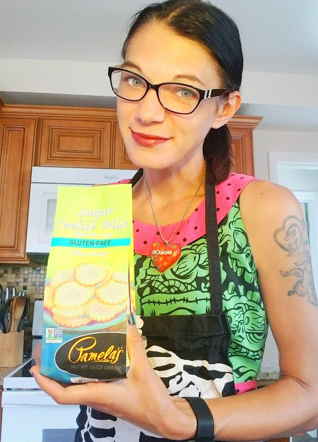 Give It A Whirl Girl with Pamela's Products Gluten Free Sugar Cookie Mix
