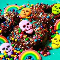 RECIPE - Devil's Food Vegan & Gluten Free Donuts - To Die For Goodness